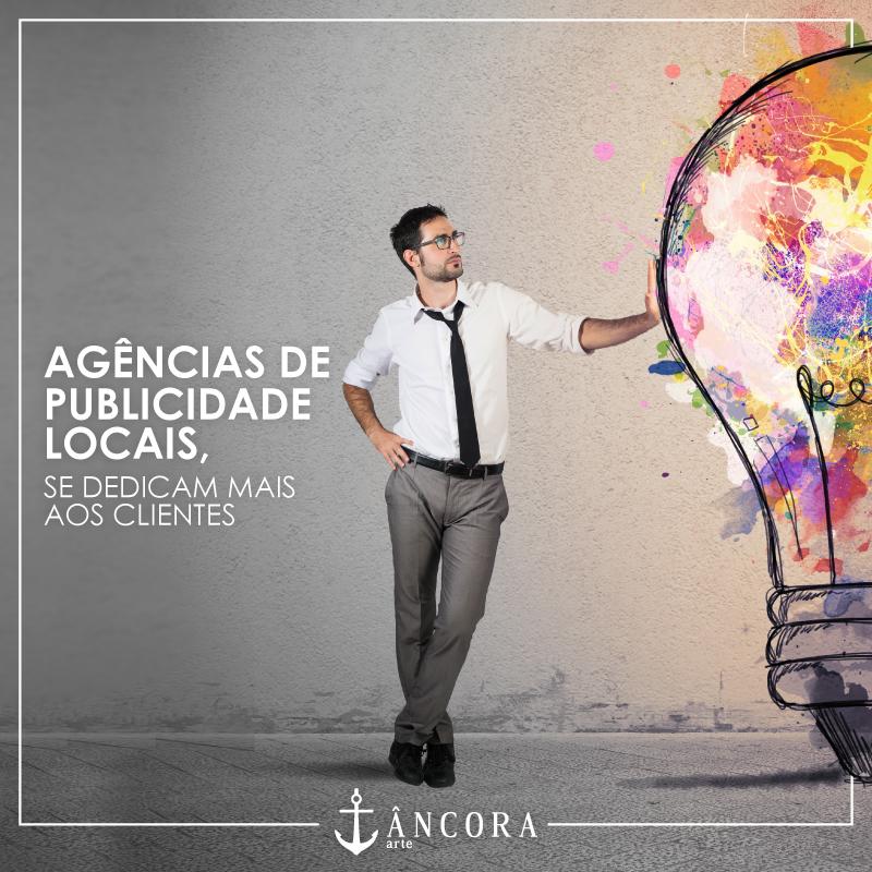 Agências de publicidade locais se dedicam mais aos clientes