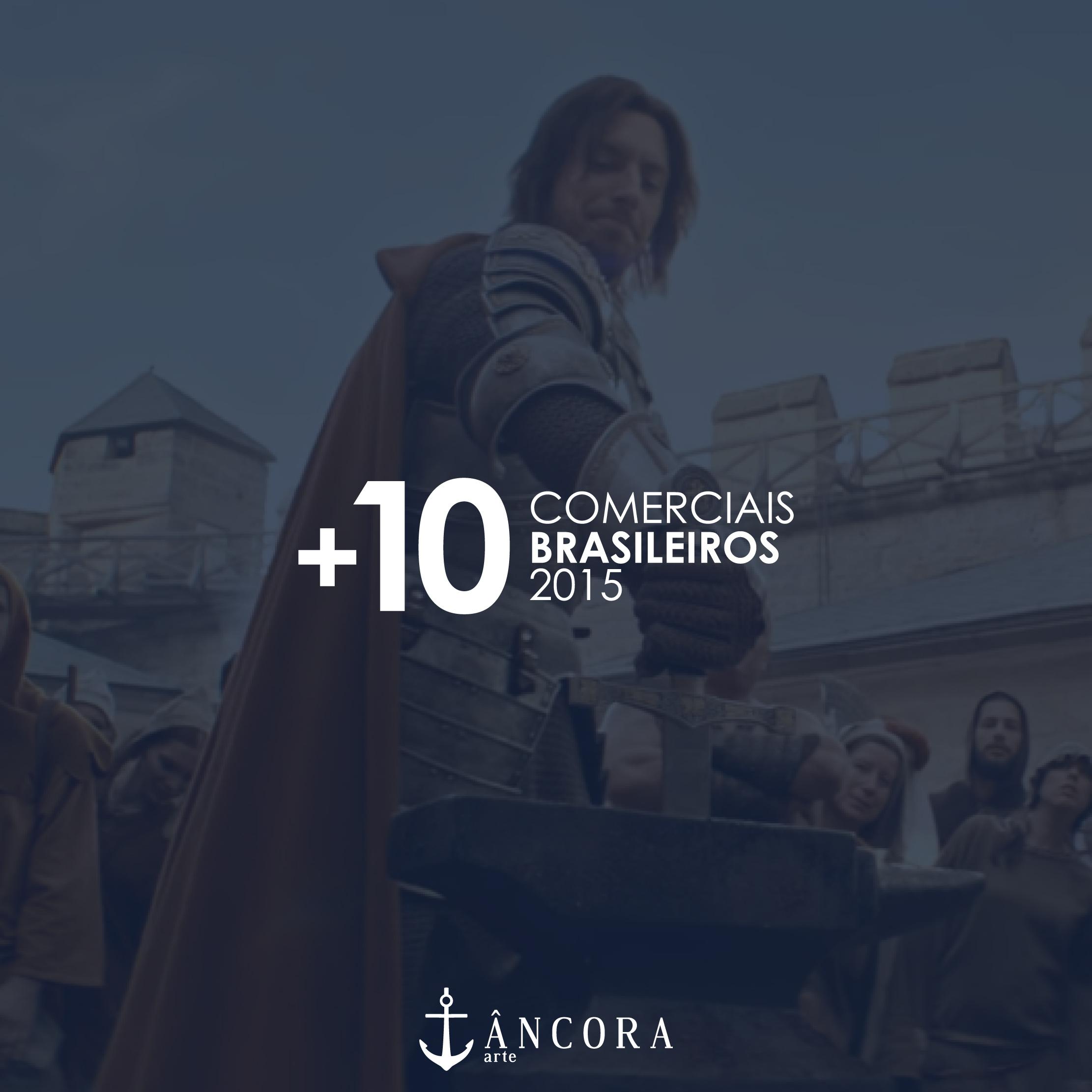 Os melhores comerciais brasileiros de 2015