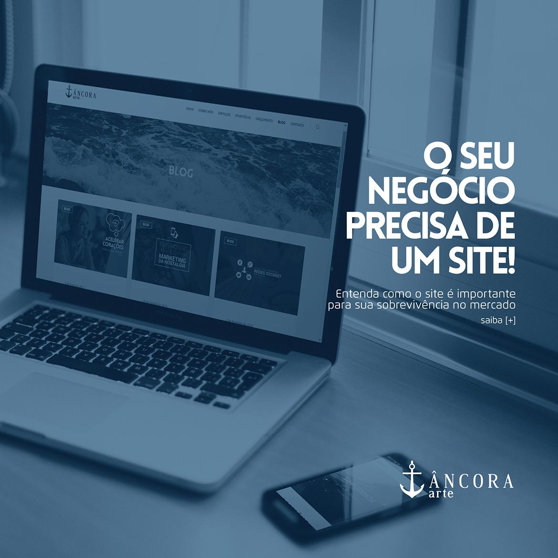 O seu negócio precisa de um site!